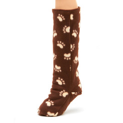 CastCoverz! Sleeperz! for Legs - Bow WOW on Brown