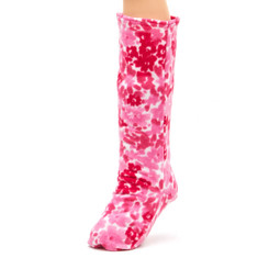 CastCoverz! Sleeperz! for Legs - Painted Pink Petals
