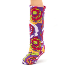 CastCoverz! Sleeperz! for Legs - Psychedelic Swirl