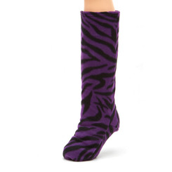 CastCoverz! Sleeperz! for Legs - Purple Zebra