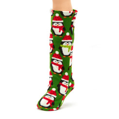 CastCoverz! Sleeperz! for Legs - Santa Penguin