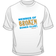 Broken Bones Club Short Sleeve Tee for Adults.  Available in white.