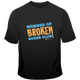 Broken Bones Club Short Sleeve Tee for Kids.  Available in black.