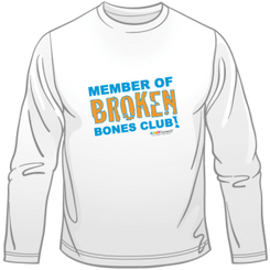 Broken Bones Club Long Sleeve Tee - Adult