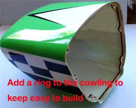 Cowling, for 30cc model