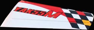 Wings, YAK55M, Scheme C, 57in wing span, set of 2