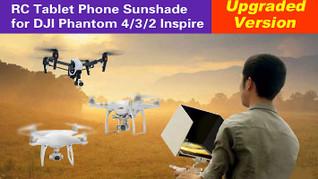 Aerial Photograph 5.5in Smartphone Sunshade 7.9in 9.7in iPad Tablet Pad Sunshade Sun Hood for DJI Inspire Phantom 4/PRO/3/2 Dolphin Co RC Australia