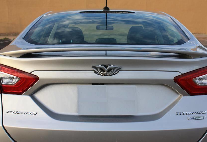 2011 2017 Ford Fiesta Loden T Wing Badge Emblem Hood Trunk