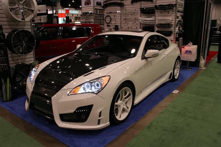 sherwood automotive korean auto imports sema show 2009. Black Bedroom Furniture Sets. Home Design Ideas