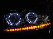 2007 Santa Fe LED Angel Eyes