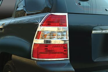 2005 2006 2007 2008 2009 2010 Sportage Chrome Taillight Trim Covers Set 2pc