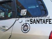 01-06 Santa Fe Zero Sports Fuel Door Cover
