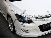 Hyundai i30 M&S lower Headlight Trim Eyelines Elantra Touring 2006 2007 2008 2009 2010 2011