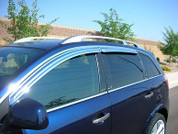 Captiva Chrome Window Visors