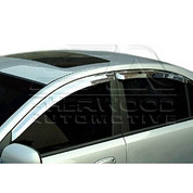 Aveo/Kalos 03-06 Chrome Window Visors