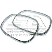 Rezzo Chrome Side Mirror Rings