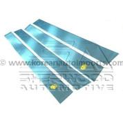 Lacetti / Forenza Chrome Door Pillars