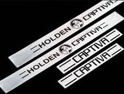 """Captiva """"Holden"""" SS Door Sills"""