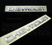 Chevrolet Letter Emblem