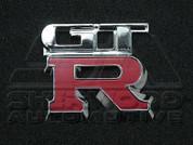 Chrome GTR Emblem