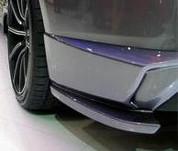 Genesis Coupe Tomato Rear Bumper Flares