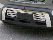 Soul Stainless Steel Front Bumper Trim 2pc
