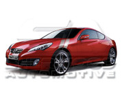 Genesis Coupe Fender Strip Set