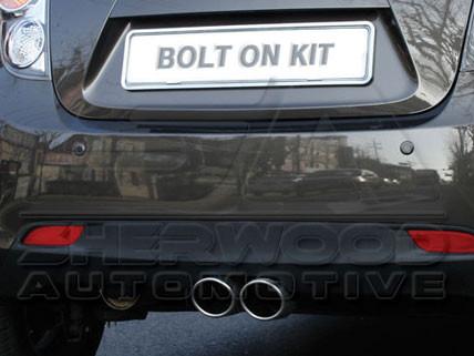 Chevy Holden Spark Dual Exhaust Kit Korean Auto Imports
