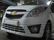 Chevy / Holden Spark Black Fog Light Accents
