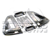 Chevy / Holden Spark Chrome C-Pillar / Handle Set