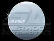 "Chevy / Holden Cruze ""PUSH"" Chrome Fuel Door Cover"