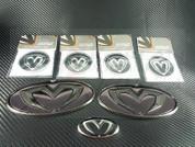 Getz / Click M&S Black Carbon 7 Piece Emblem Package