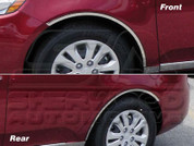 Forte Chrome Wheel Fender Trim