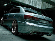 09+ Sonata Cuper Rear Bumper/Diffusor w/ Quad Exhaust Tips