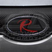 "Carbon ""R"" Emblem"