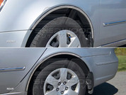 Sonata NF Chrome Wheel Well Trim 4pc