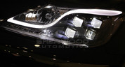 Genesis Sedan Prada Edition HID LED DRL Headlights