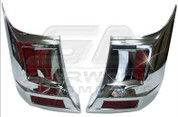 Grand Starex Chrome Rear Bumper Garnish Set
