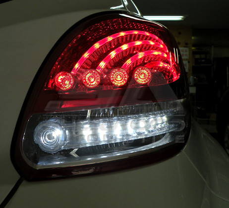 Veloster 2 Way Led Taillights 2pc Korean Auto Imports