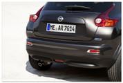 2010+ Nissan Juke European Stainless/Chrome License Plate Frame