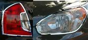 2006-2010 Accent / Verna Chrome Headlight/Taillight Trim 4pc Pac