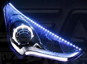 Veloster Led Headlight Eyeline Kit Korean Auto Imports
