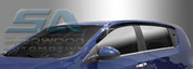 2012+ Chevy Aveo Smoke Tinted Window Visors