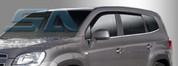 2011+ Chevy Orlando Smoke Tinted Window Visors