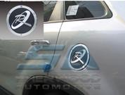 """2010+ Sorento R XM Chrome """"R"""" Fuel Door Cover"""