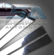 2012 SM7 Chrome Stainless Steel Door Pillars Post 4pc