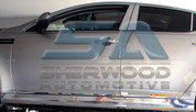 2011 + Elantra MD Chrome Stainless Steel Side Skirt Molding 2pc
