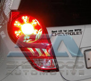 Chevy Spark Euro Style LED Taillights 2 pc