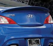 2013 + Genesis Coupe EGX Rear Lip Spoiler