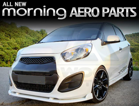 2011 Picanto Morning Sequence Front Bumper Diffusor
